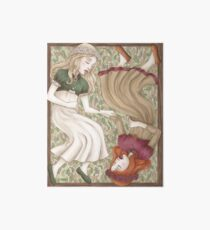 Snow White and Rose Red Art Board