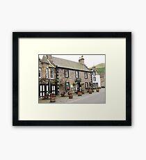Mrs Baird's Guesthouses ( the Covenanter Hotel, Falkland ), Outlander film location Framed Print