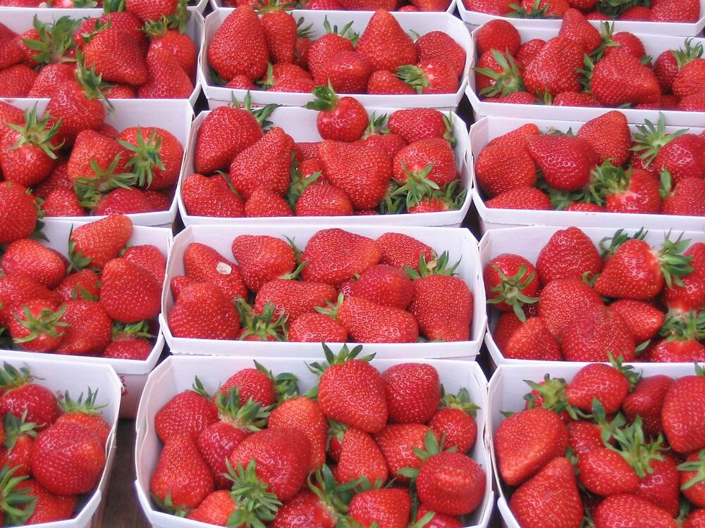 strawberries by katinka