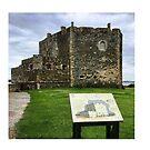 Blackness Castle - Fort George , Outlander by David Rankin