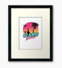 Scarif Beach Framed Print