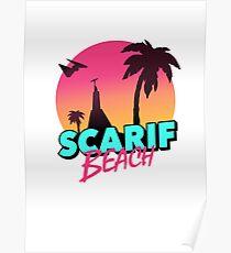 Scarif Beach Poster