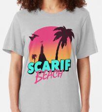 Scarif Beach Slim Fit T-Shirt