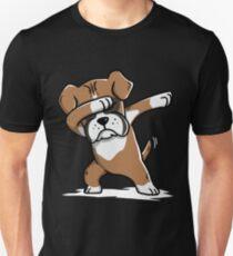 Dabbing Boxer Funny Unisex T-Shirt