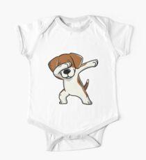 Dabbing Beagle Funny Kids Clothes