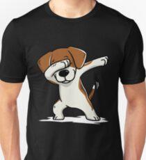 Dabbing Beagle Funny Unisex T-Shirt