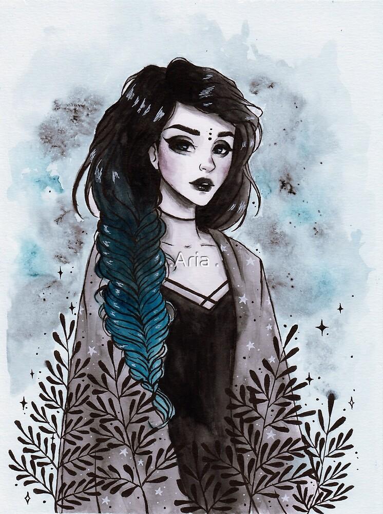 Modern witch by ARiAillustr