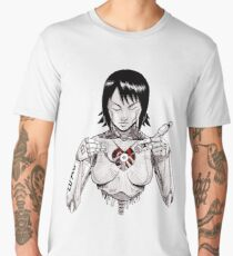 Hagane no Kokoro - A Ghost in This Shell Men's Premium T-Shirt