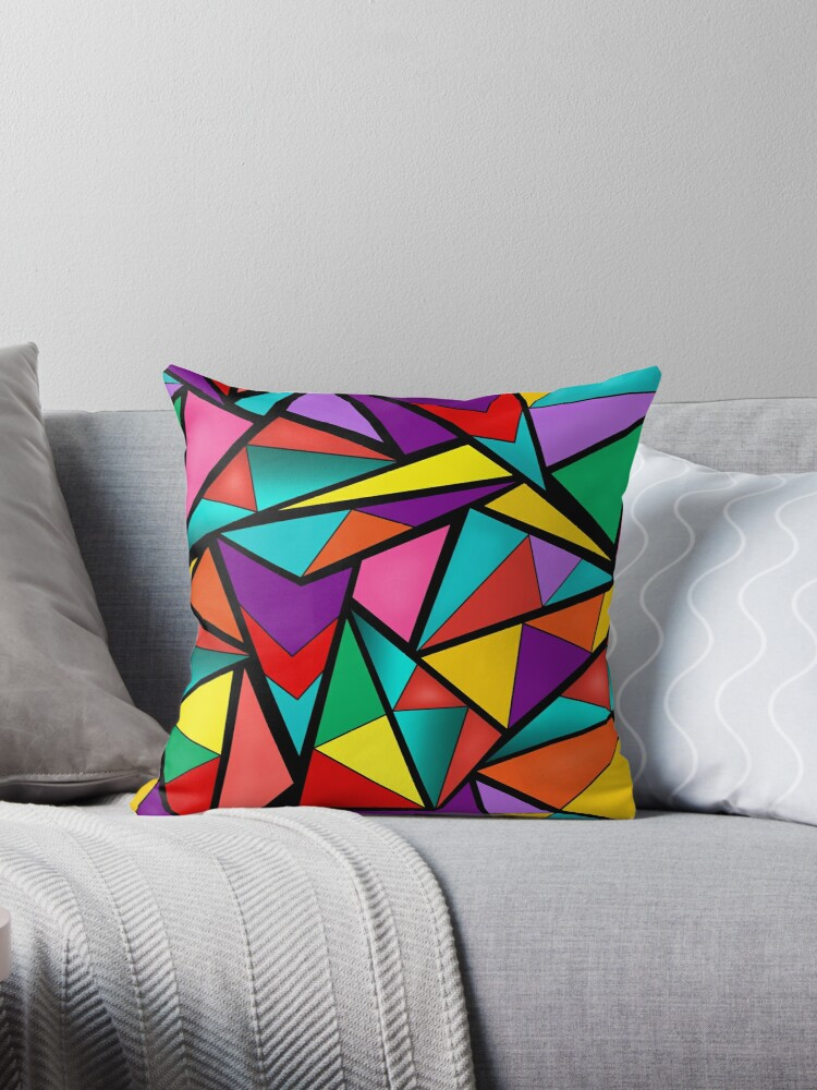 Abstract bright multicolored geometric pattern . 4 by fuzzyfox