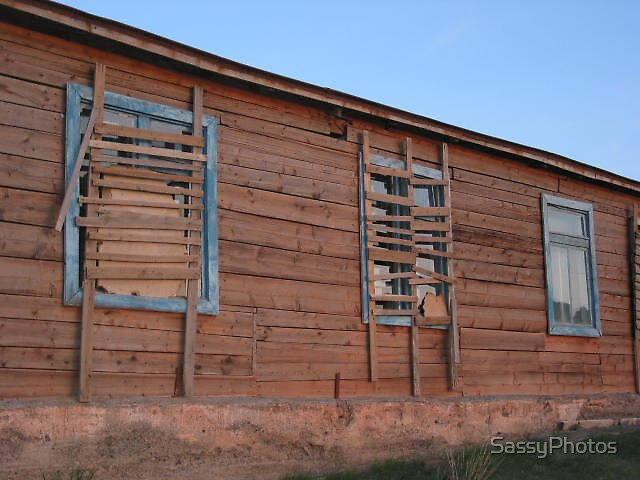 Boarded windows by SassyPhotos