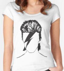 Sternenmann Tailliertes Rundhals-Shirt