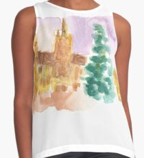 Grand Place at Christmas Contrast Tank