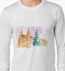 Grand Place at Christmas Long Sleeve T-Shirt
