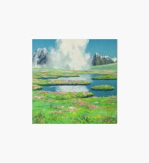 GHIBLI LANDSCAPE ANIME  Art Board