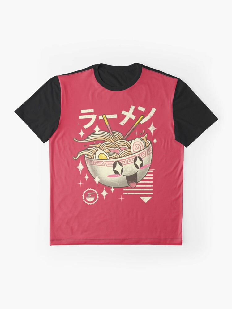 Alternate view of Kawaii Ramen Graphic T-Shirt