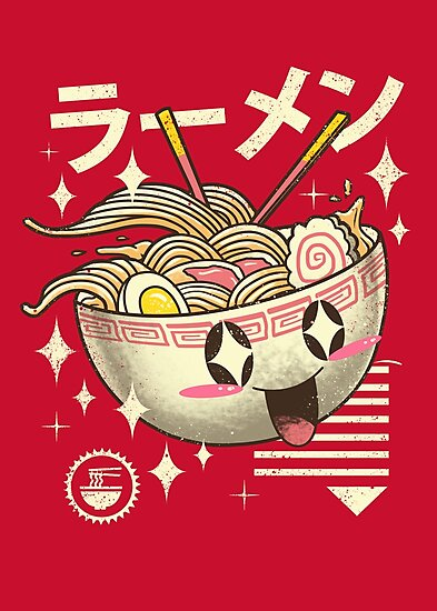 Kawaii Ramen by vincenttrinidad