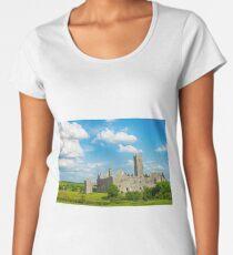 quin abbey county clare ireland Women's Premium T-Shirt