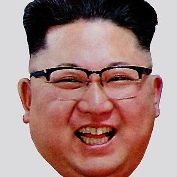 Kim Jong-Un DPRK by radpidgeons