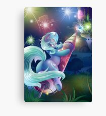 Trixie (without New Years Text) Canvas Print