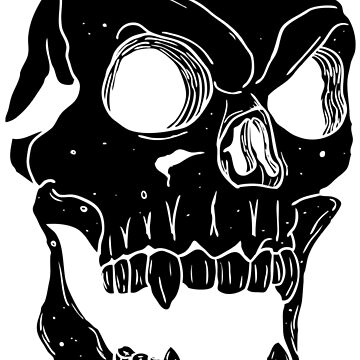 Terror Skull Illustration by Chocodole