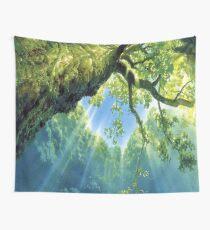 ANIME STUDIO GHIBLI BIG TREE Wall Tapestry