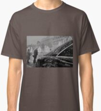 Paris France Champs Elysees Lomo LCA lomographic analog film photograph 35mm Classic T-Shirt