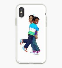 troy and abed in the morning iPhone Case