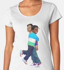 troy and abed in the morning Women's Premium T-Shirt