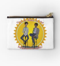 troy and abed in the morning Studio Pouch
