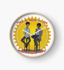 troy and abed in the morning Clock