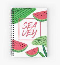 Cuaderno de espiral SEATEY WATERMELON BLANCO RETRATO