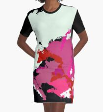 Ink Graphic T-Shirt Dress