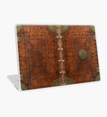 Ancient leather & brass book cover, Nuremberg 1477 Laptop Skin