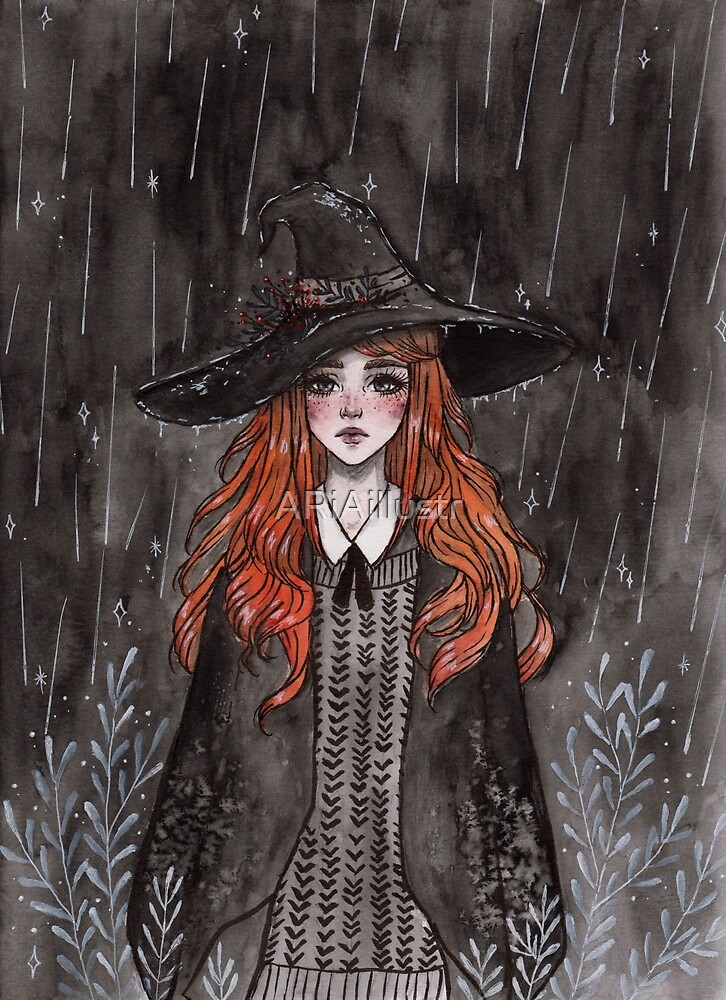 Ginger witch by ARiAillustr
