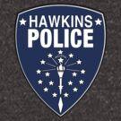 Stranger Things - Hawkins Police Department badge by PearShaped