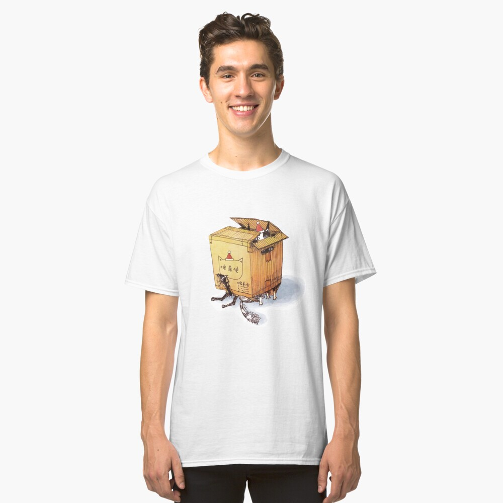 Mimi Cat Delivery Service (Xmas) Classic T-Shirt