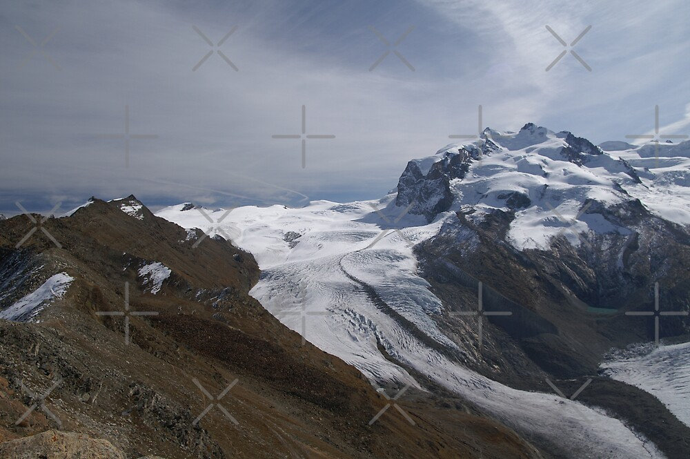 Cima di Jazzi and the Monte Rosa by poupoune