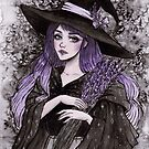 Lavendel Hexe von ARiAillustr