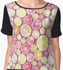 Citrus mix Chiffon Top