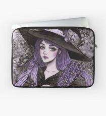 Lavendel Hexe Laptoptasche