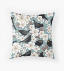 Waiting for the cherries I Throw Pillow