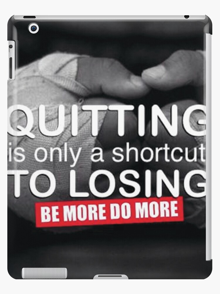 Quitting Is A Shortcut To Losing by myfitspiration