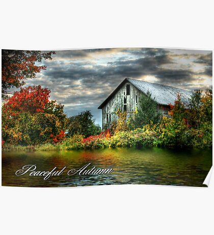 Peaceful Autumn Poster