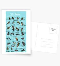 UK Bee Board Postcards