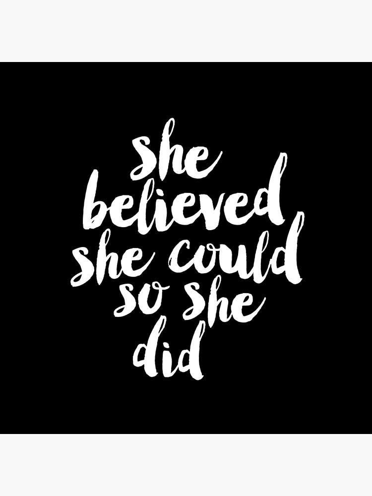 Sie glaubte, sie könnte so tat sie von MotivatedType