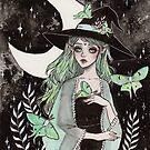 Luna Motte Hexe von ARiAillustr