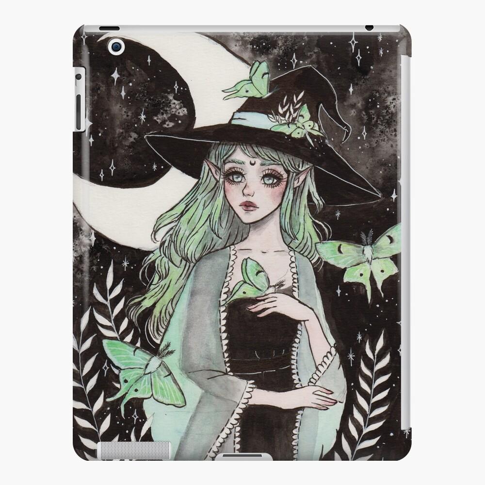 Luna Motte Hexe iPad-Hülle & Skin