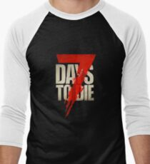 Blood Days Men's Baseball ¾ T-Shirt