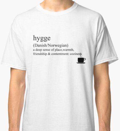 Hygge- Danish/Norwegian, Statement Tees & Accessories Classic T-Shirt