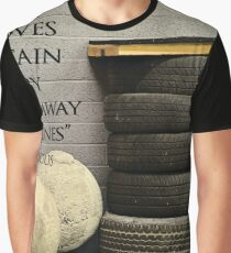 Te Man Who Moves A Mountain Graphic T-Shirt